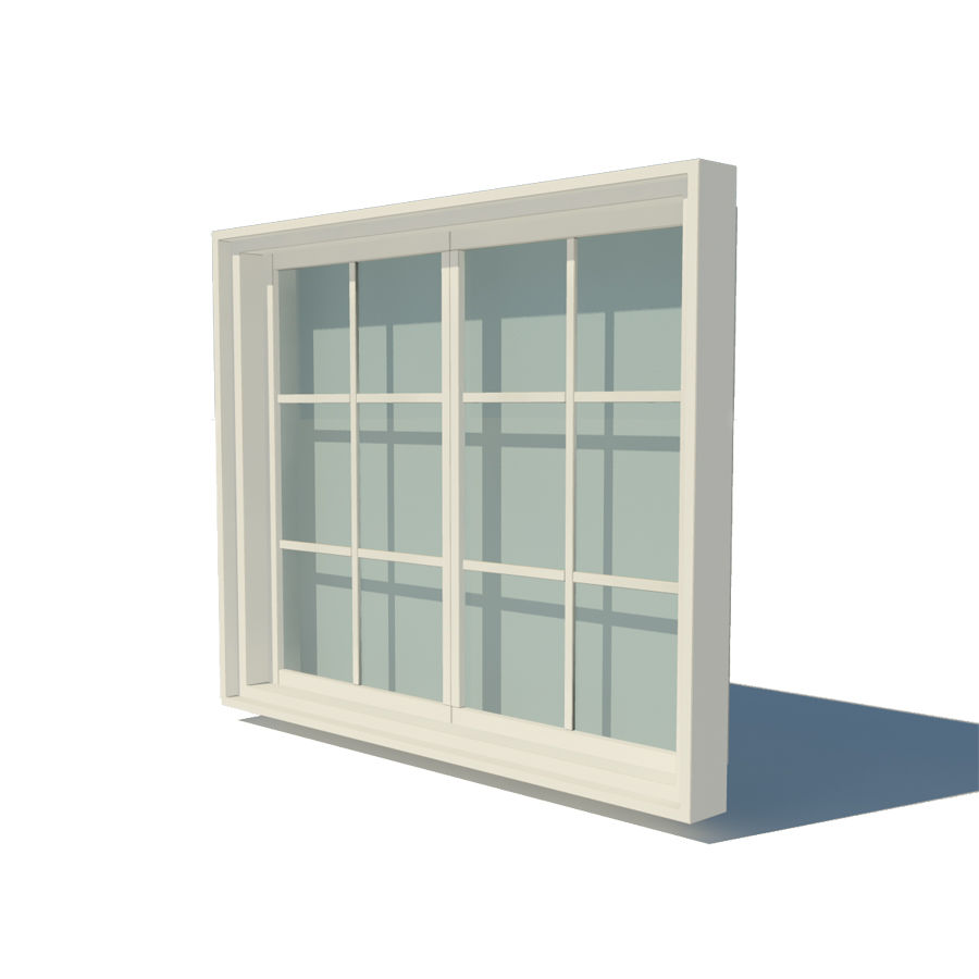 Fenster royalty-free 3d model - Preview no. 2