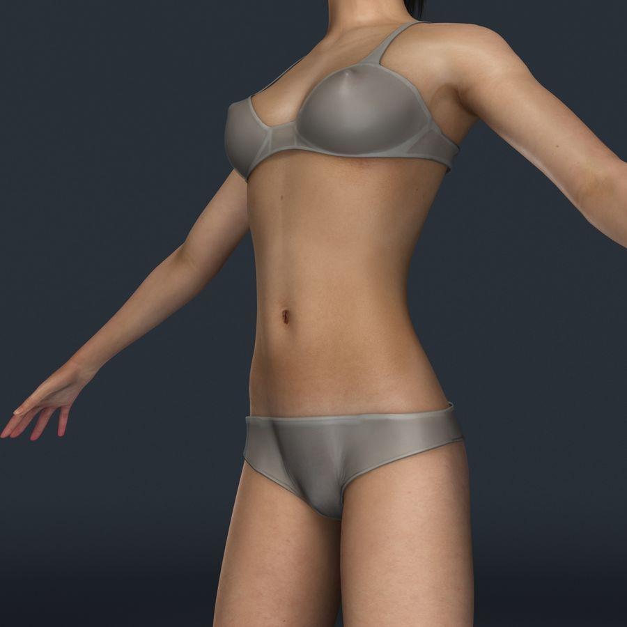 女性の解剖学 royalty-free 3d model - Preview no. 1