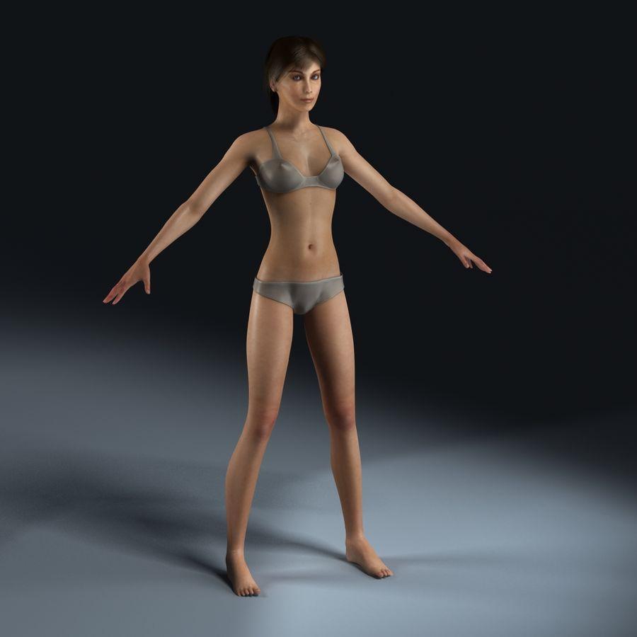 女性の解剖学 royalty-free 3d model - Preview no. 8