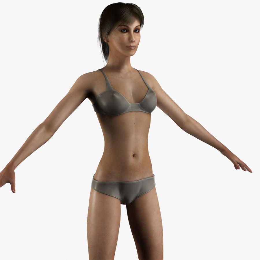 Vrouwelijke anatomie royalty-free 3d model - Preview no. 2