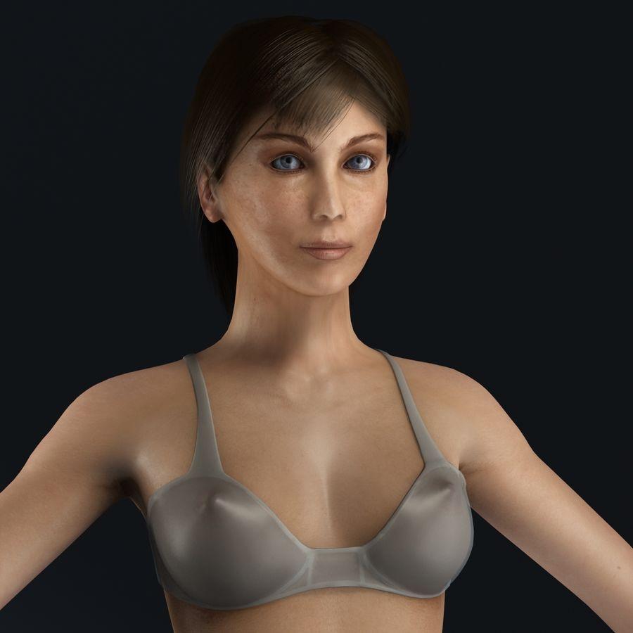 女性の解剖学 royalty-free 3d model - Preview no. 4