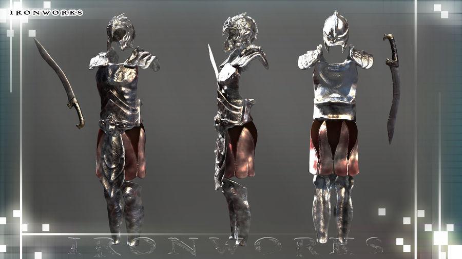 Atlantean Armor royalty-free 3d model - Preview no. 1