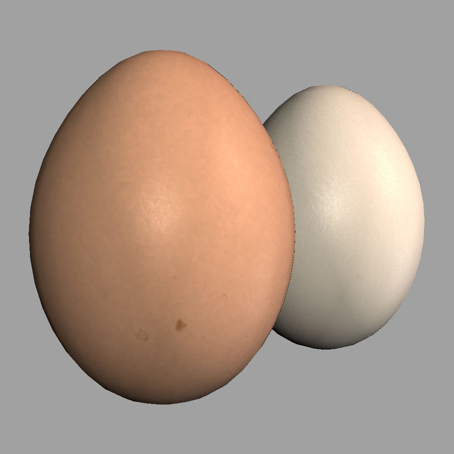 Huevos royalty-free modelo 3d - Preview no. 4