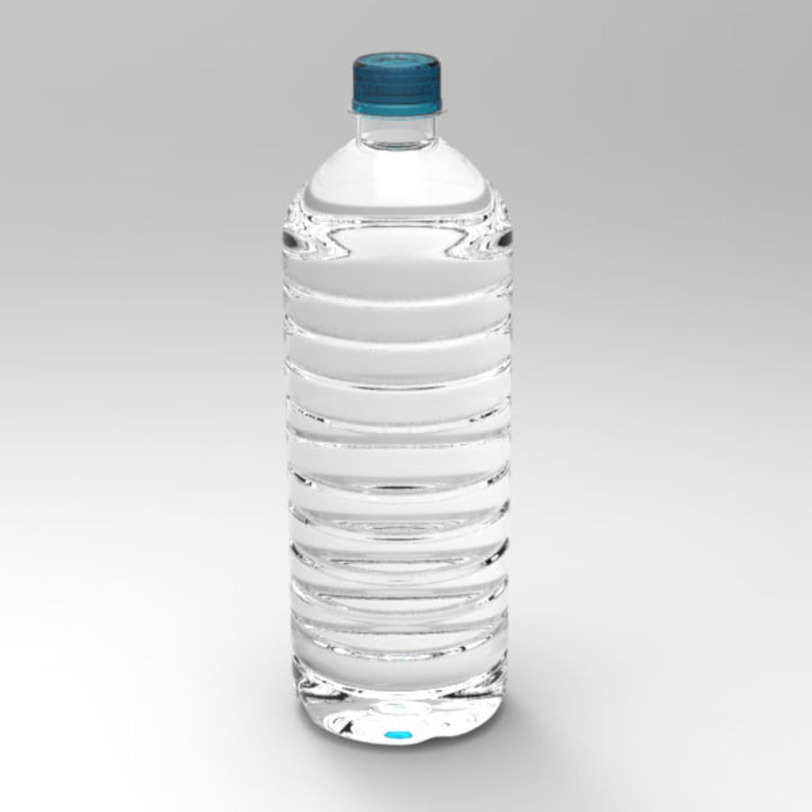 Water bottle royalty-free 3d model - Preview no. 2