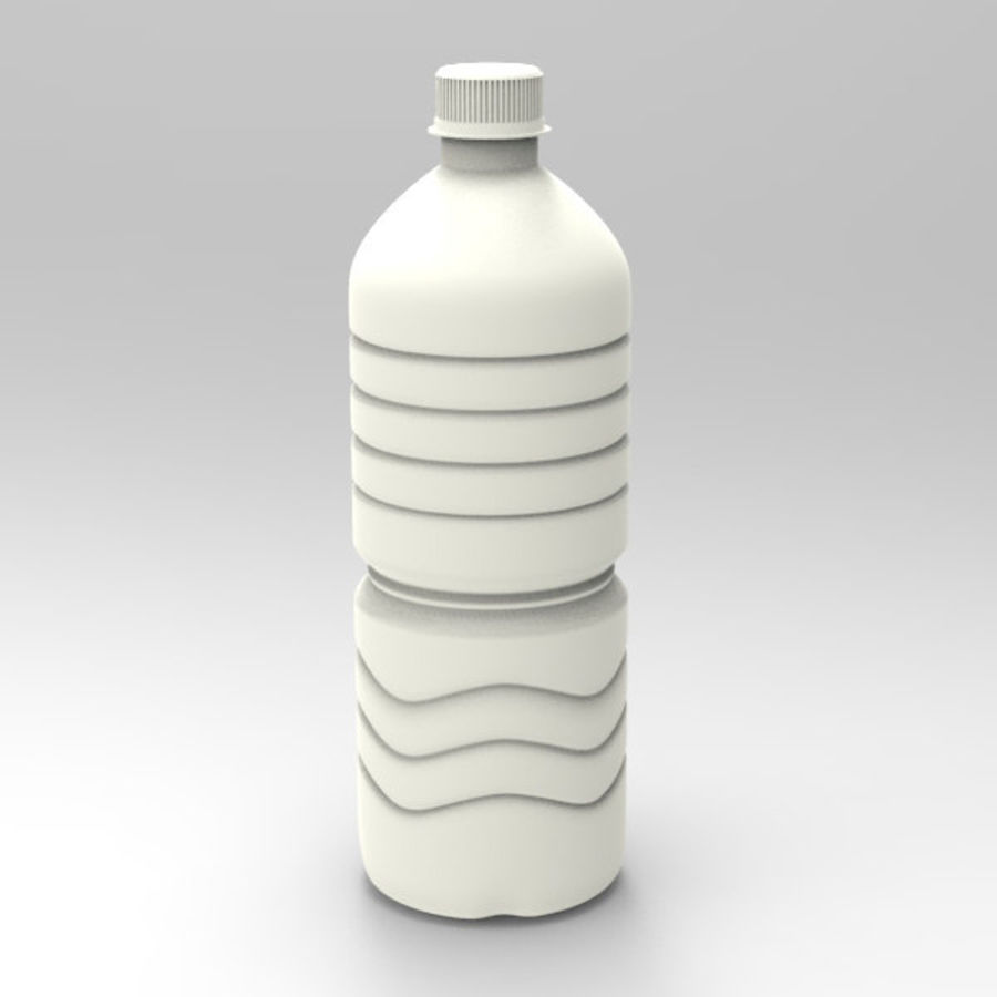 Water bottle royalty-free 3d model - Preview no. 10