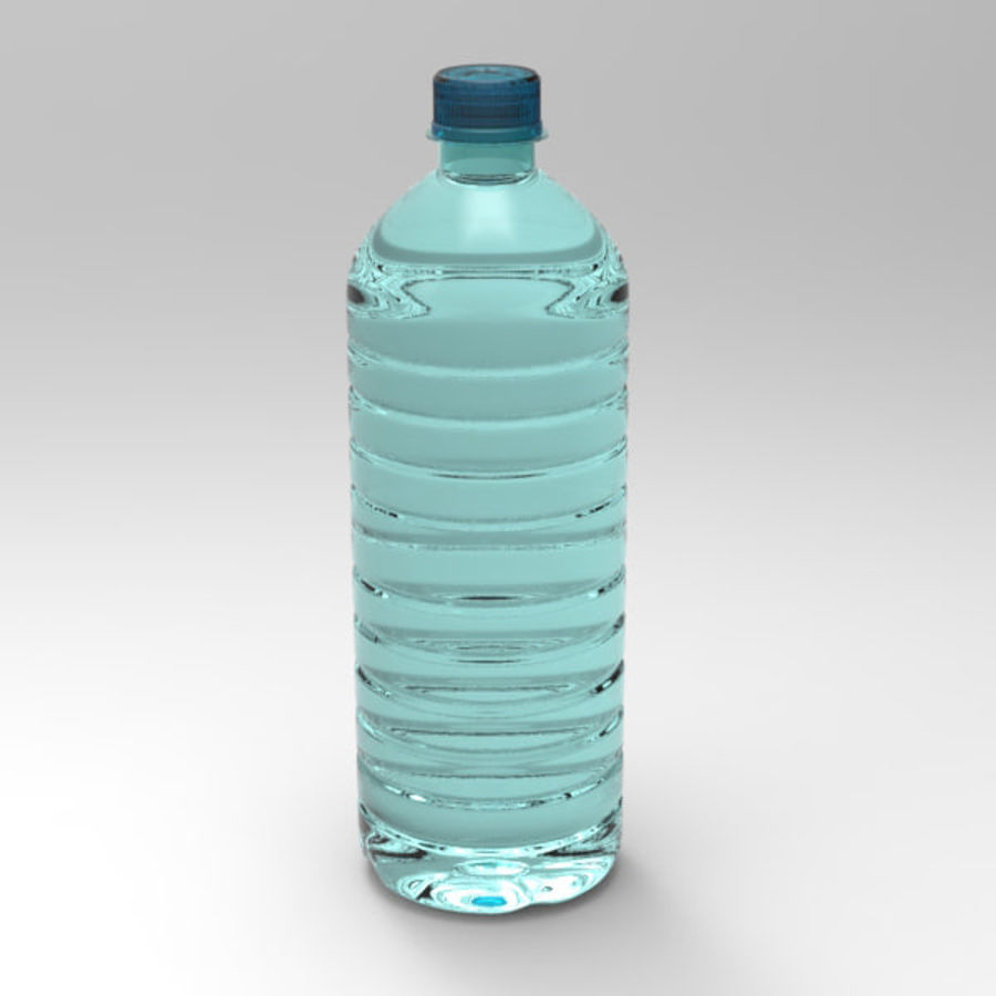 Water bottle royalty-free 3d model - Preview no. 3