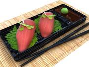 Tonno Nigiri 3d model