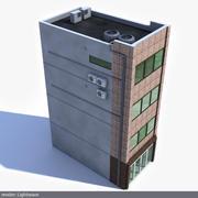 Modern Japonya Binası 3d model
