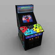 Gauntlet Arcade Game 3d model
