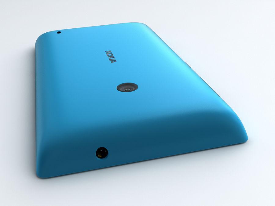 Nokia Lumia 520 royalty-free 3d model - Preview no. 12