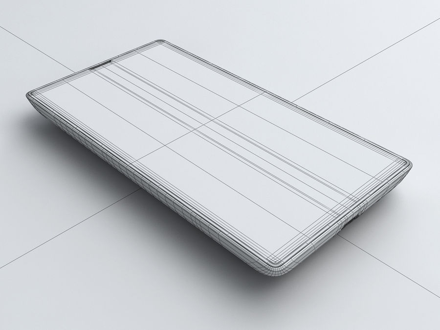 Nokia Lumia 520 royalty-free 3d model - Preview no. 28