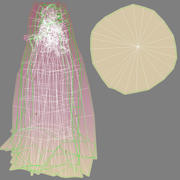 Violet Branched Coral Fungus 3d model