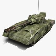 Tank Sci-Fi 1 3d model