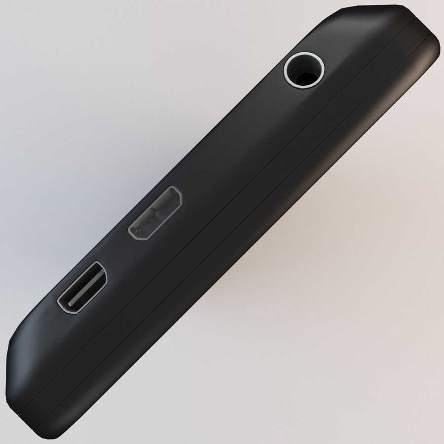 Motorola Atrix HD royalty-free 3d model - Preview no. 8