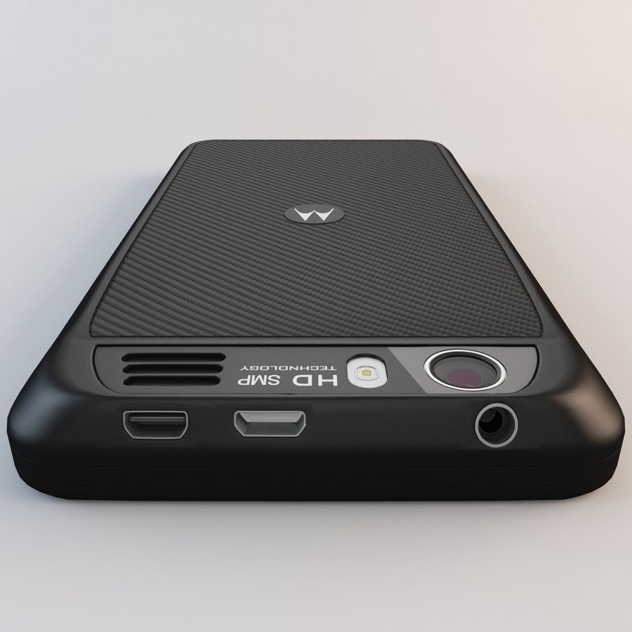 Motorola Atrix HD royalty-free 3d model - Preview no. 14