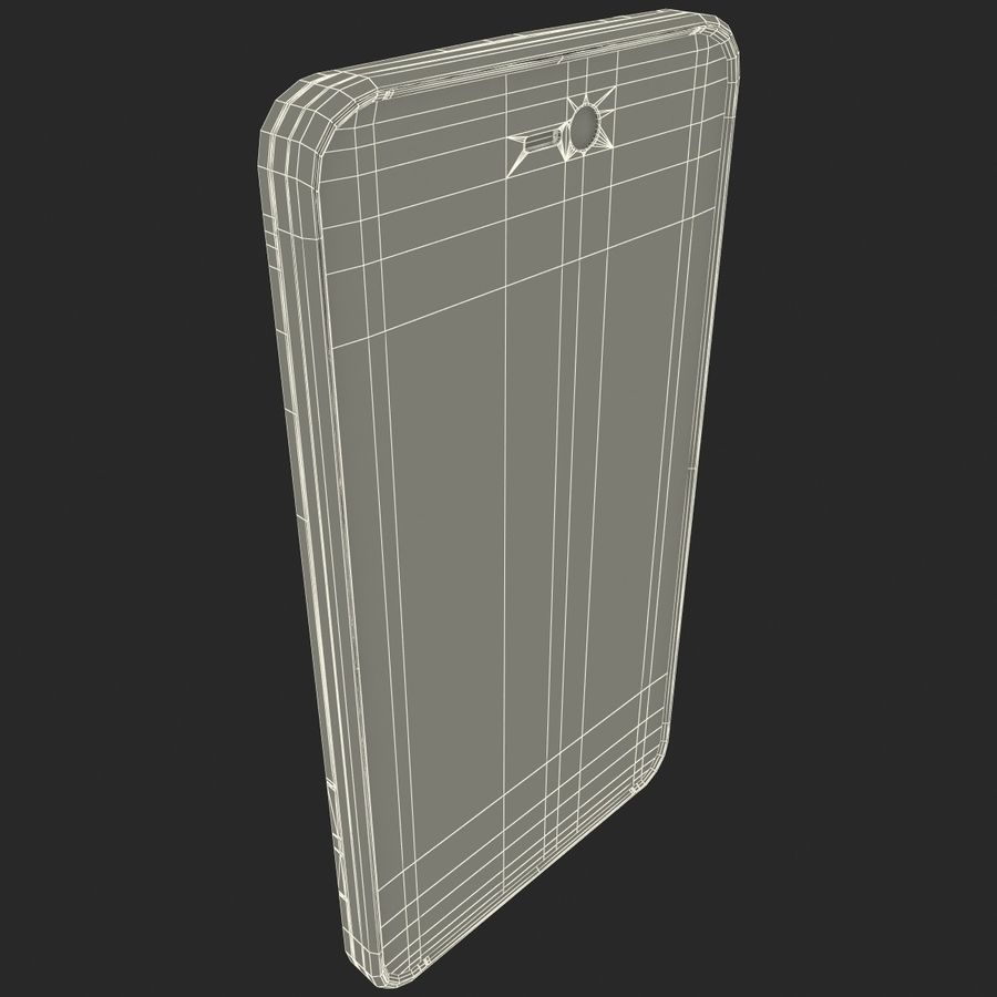 Motorola Atrix HD royalty-free 3d model - Preview no. 26