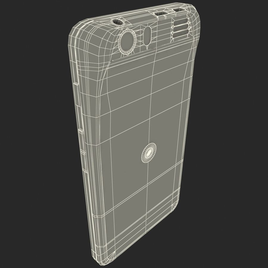 Motorola Atrix HD royalty-free 3d model - Preview no. 27