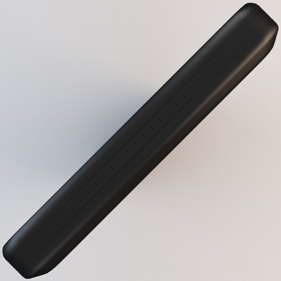 Motorola Atrix HD royalty-free 3d model - Preview no. 9