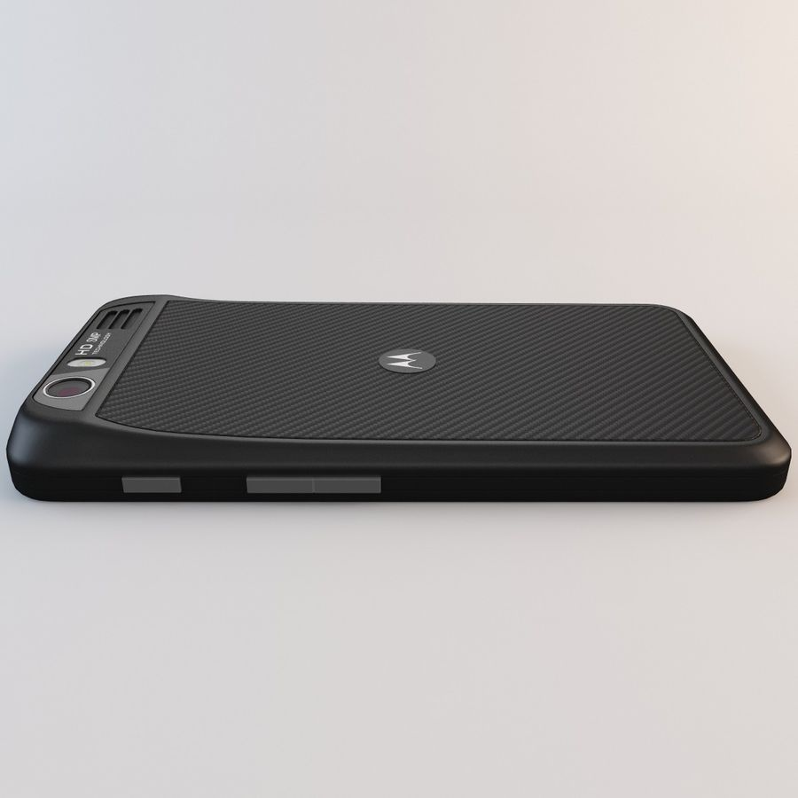 Motorola Atrix HD royalty-free 3d model - Preview no. 17