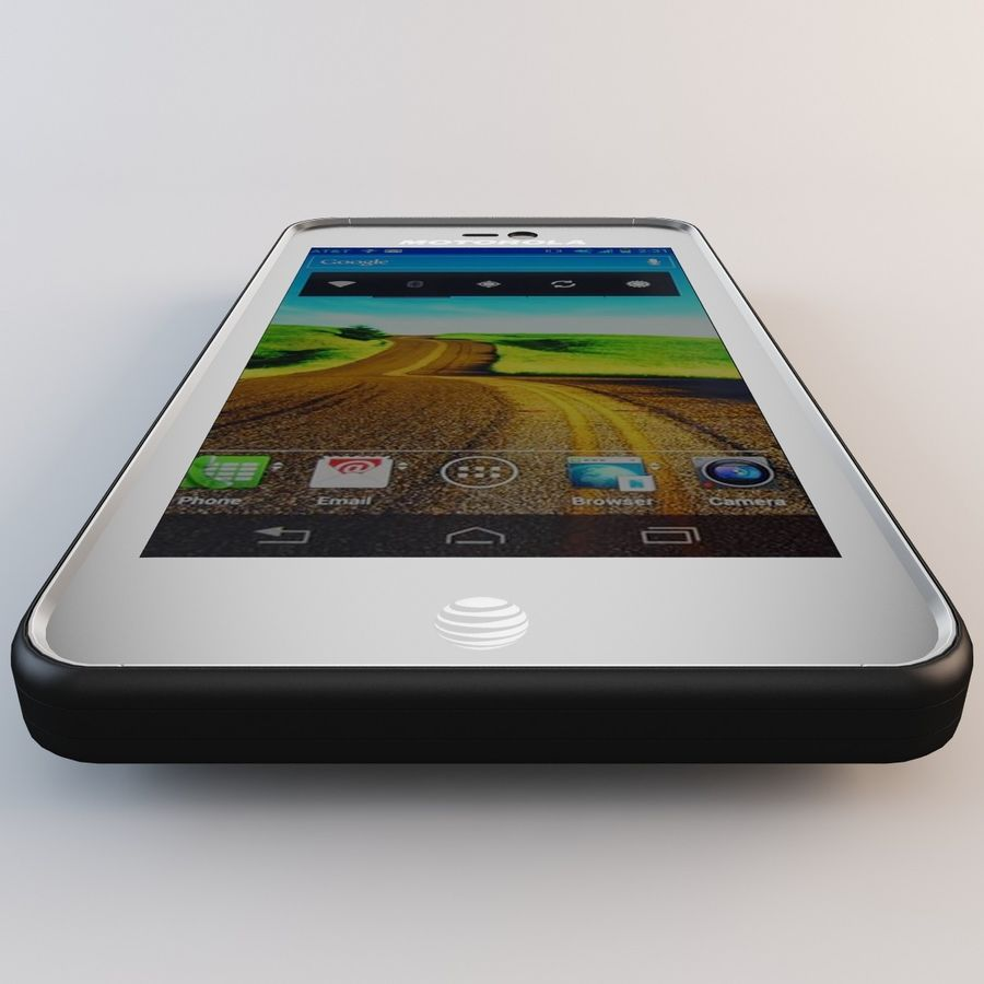 Motorola Atrix HD royalty-free 3d model - Preview no. 12