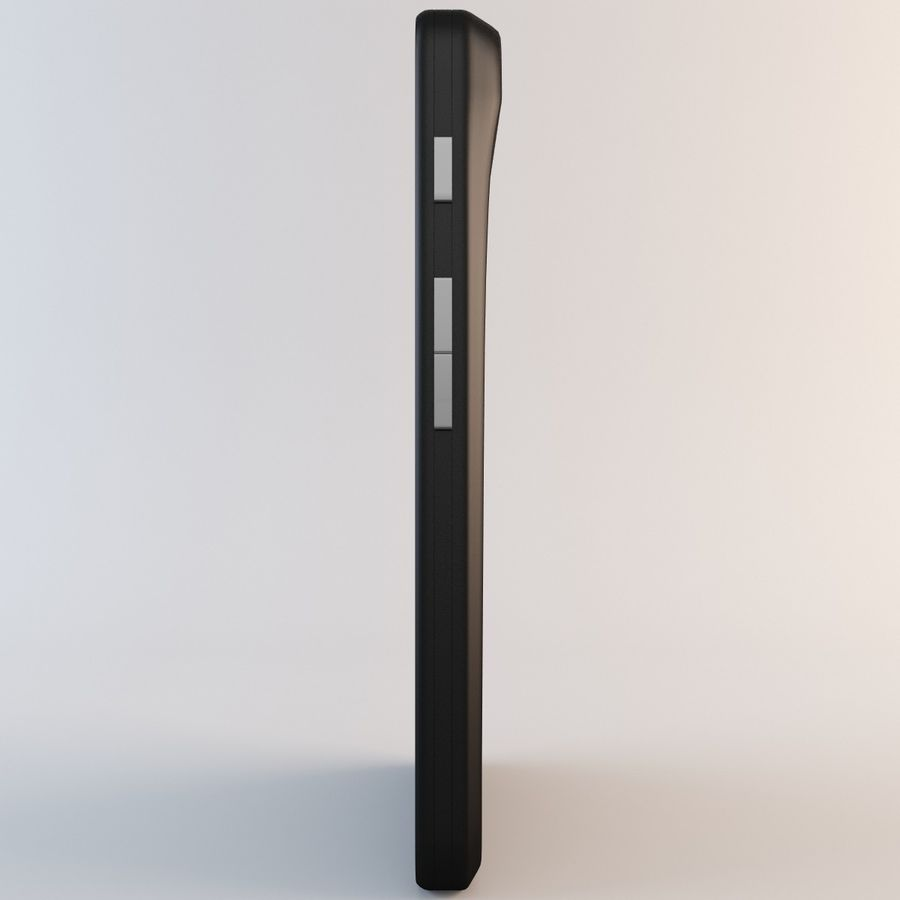 Motorola Atrix HD royalty-free 3d model - Preview no. 5
