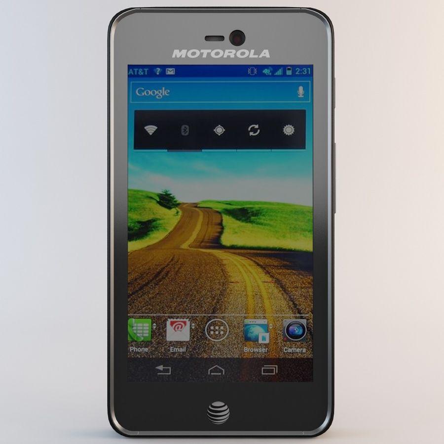 モトローラAtrix HD royalty-free 3d model - Preview no. 4