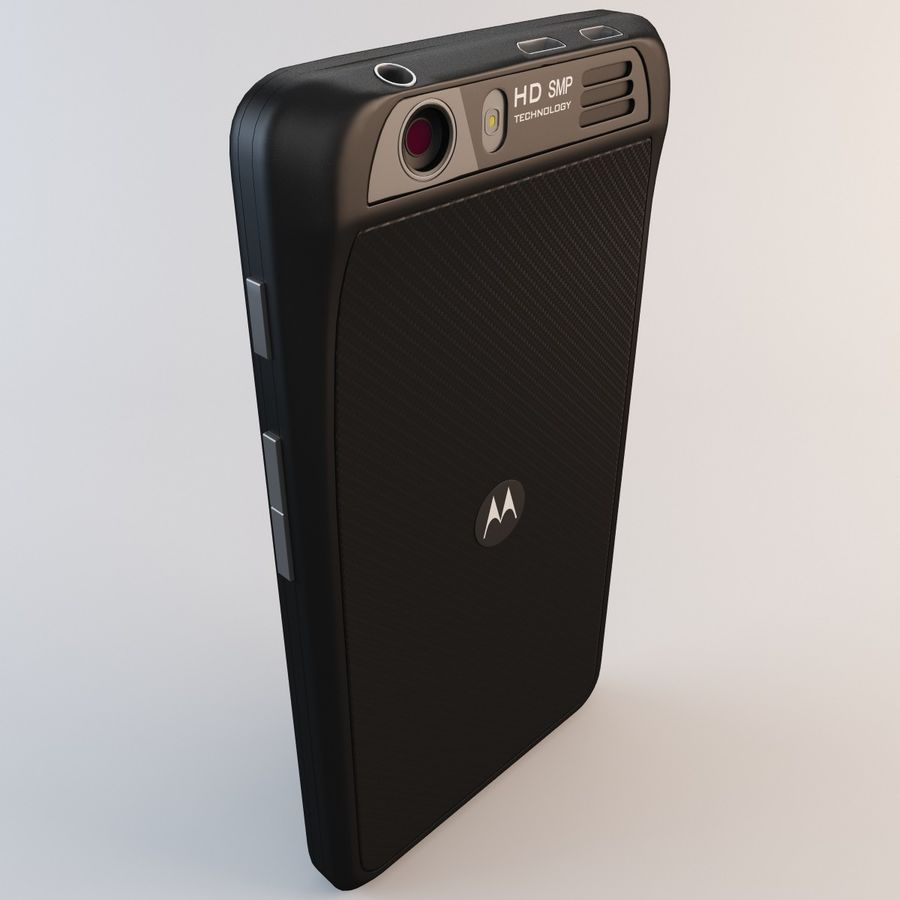 Motorola Atrix HD royalty-free 3d model - Preview no. 11