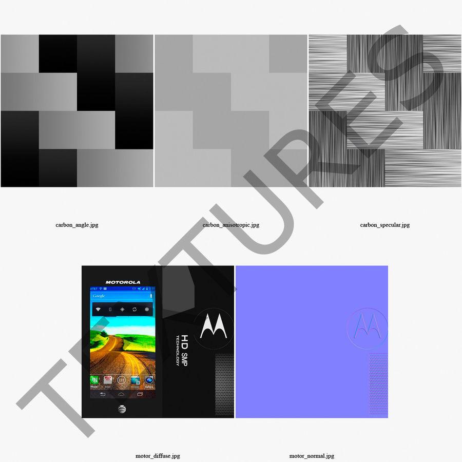モトローラAtrix HD royalty-free 3d model - Preview no. 34