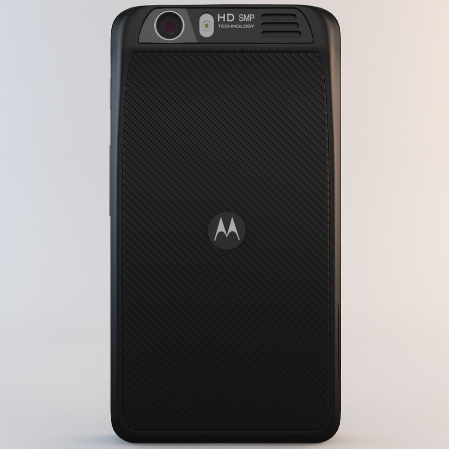 Motorola Atrix HD royalty-free 3d model - Preview no. 6