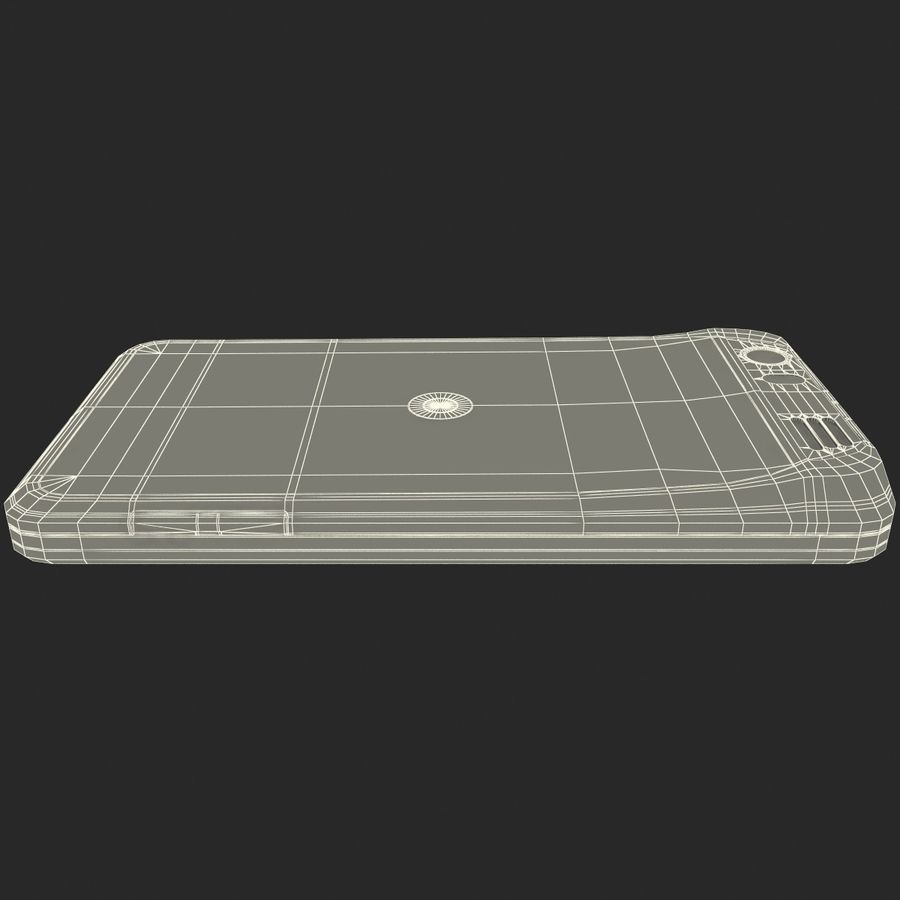 Motorola Atrix HD royalty-free 3d model - Preview no. 32