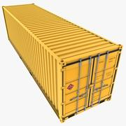 30 Feet Container 3d model
