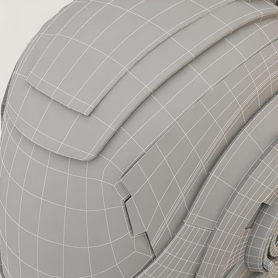Sci-fi Helmet royalty-free 3d model - Preview no. 14
