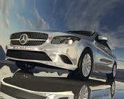 Klasa Mercedes CLA 3d model