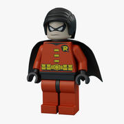Lego Robin 3d model