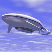 비행선 3d model