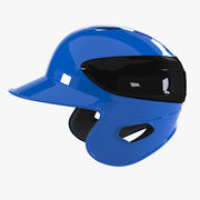 棒球头盔 3d model