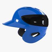 Casque de baseball 3d model