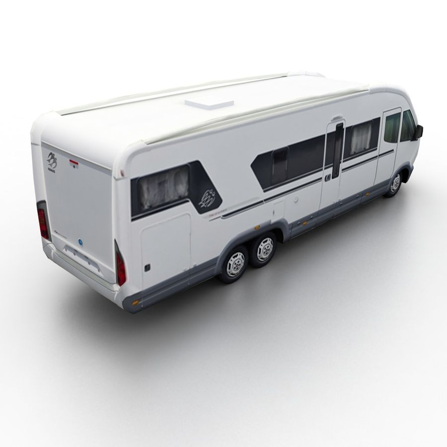 Knaus Sun Liner 2009 royalty-free 3d model - Preview no. 1