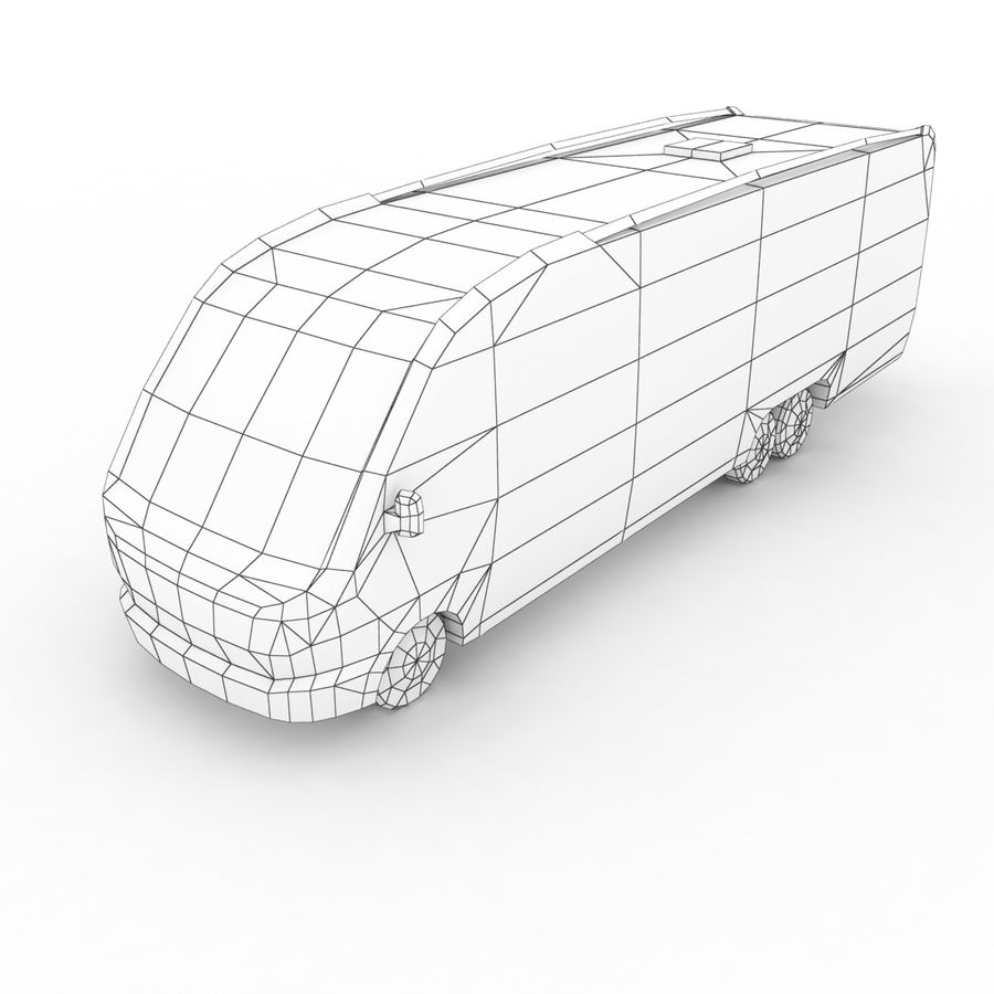 Knaus Sun Liner 2009 royalty-free 3d model - Preview no. 6
