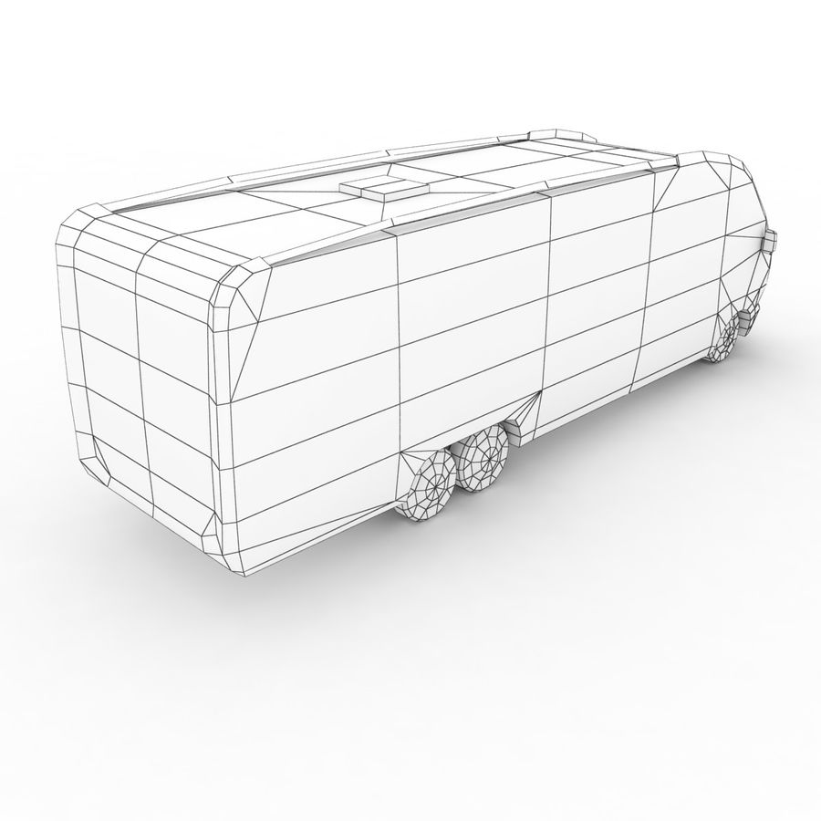 Knaus Sun Liner 2009 royalty-free 3d model - Preview no. 7