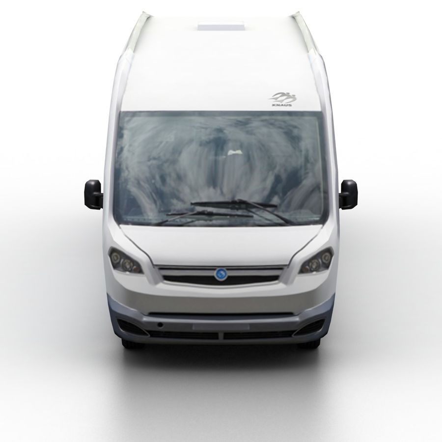 Knaus Sun Liner 2009 royalty-free 3d model - Preview no. 4