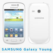 Smartphone Samsung Galaxy S6310 3d model
