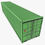 40 Feet Container 3d model