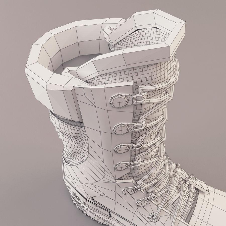 Ordu çizmeler royalty-free 3d model - Preview no. 18