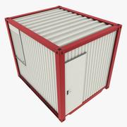 10Ft Office Container 3d model