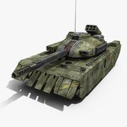 Tank Sci-Fi 2 3d model
