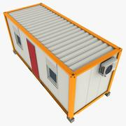 20Ft Bürocontainer 3d model
