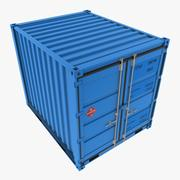 10_ft Container 3d model