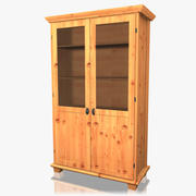 Hutch Cabinet 3d model