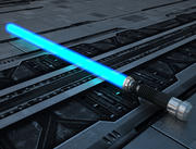LightSaber Obi-Wan Kenobi Blue 3d model